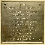 Box 048 Memorial plaques